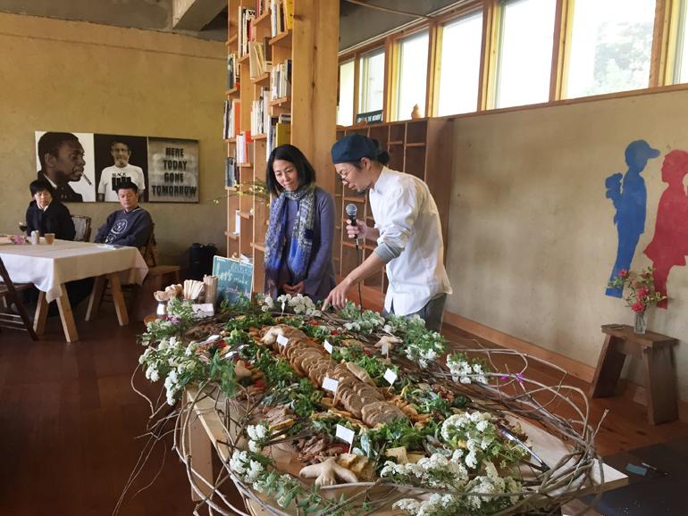 ノマド村プレオープンパーティケータリング